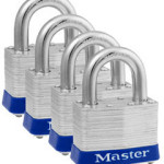 Master Lock No-5 Padlock Pack